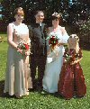 Marriage of Gary Dixon & Jane Geary 2003